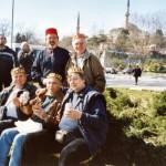 2003 - Se slávisty v Istanbulu