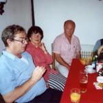 Spolužáci   B. Eliáš, J. Svoboda   sjezd naší třídy v ŽB 2001