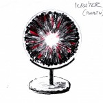 Skica plastiky - Kráter - rubín