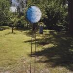 2004 - Glasplastik und Garten, Munster, Německo - plastika Noc a den