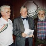 Se starostou města Munster a kamarádem M. Vobrubou