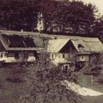 1943 - Rodná chalupa ve Staré Pace, zbourána v roce 1943