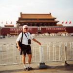 2000 - Peking - na náměstí Tiananmen